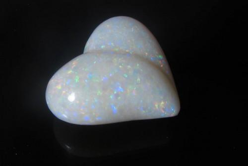 Australian Opal Heart – 14.45 Carat – SOLD